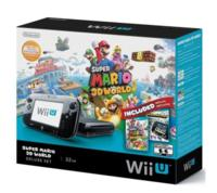 $269.99 Wii U 32GB Black Deluxe Set w/ Super Mario 3D World & Nintendo Land