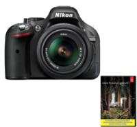 $429.99 Refurbished Nikon D5200 24.1 MP DSLR with 18-55mm Lens & Adobe Light Room