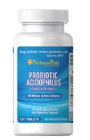 FREE 100ct. Probiotic Acidophilus With Any Purchase of $15 @ Puritans Pride