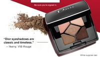 Free Dior 5 Couleurs Eyeshadow Palette Mini on orders over $35 for VIB Rouge Only @Sephora.com