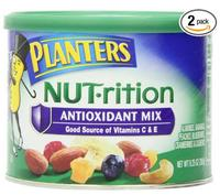 $6.4 + FS Planters Nut.rition Antioxidant Mix, 9.25 Ounce Canister (Pack of 2)