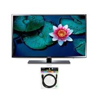 "$329.99 Samsung 40"" 1080p WiFi LED-Backlit LCD Smart HDTV + 6-foot HDMI Cable"