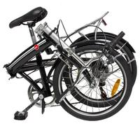"$149.95 Folding Bike 20"" Shimano 6 Speed Silver Storage Bike - Silver"