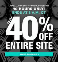 Extra 40% Off Entire Site @LastCall by Neiman Marcus