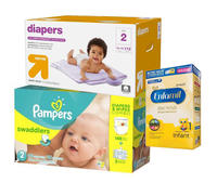 Diapers/Baby Wipes/Formula Deals @ Target