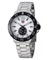 $959.00 Tag Heuer Men's Formula 1 White Dial Stainless Steel Watch, WAU1111.BA0858