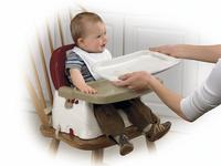 Lowest Price Ever! $18.99 Fisher-Price Healthy Care Deluxe Booster Seat, Red/White