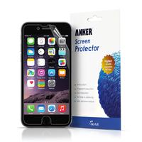 $0.99 Anker [3-pack] Ultra Clear High Response HD Screen Protector for iPhone 6 (4.7 inch)