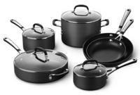 $108.79 Simply Calphalon 10-pc. Hard-Anodized Nonstick Cookware Set