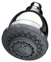 $18.39 Culligan WSH-C125 Wall-Mount 10,000 Gallon Capacity Filtered Showerhead, Chrome Finish