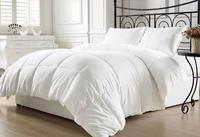 $40.62 Chezmoi Collection White Goose Down Alternative Comforter, Full/Queen