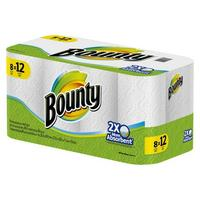 $19.98 + Free $5 Gift Card 2 Bounty White Paper Towels 8 Giant Rolls @ Target