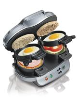 $39.99 + Free Shipping Hamilton Beach 25490 Dual Breakfast Sandwich Maker