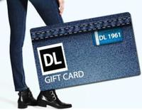DL1961 Denim and Dealmoon Giveaway, Earn Up to $500 DL 1961 Denim Gift Card!