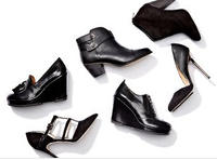 Up to 63% Off All Black Shoes @ MYHABIT