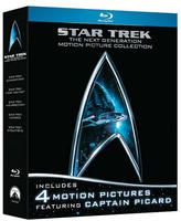 $18.41 Star Trek: The Next Generation Motion Picture Collection(Blu-ray)