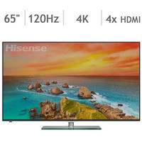 "$1299.97 Hisense 65"" Class 4K 120Hz Smart LED Ultra HDTV 65H8CG"