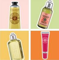 2 Travel Size Sample with $50 purchase @ L'Occitane