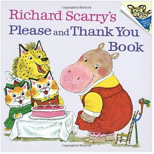 $2.86 Richard Scarry's Please and Thank You Book