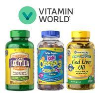 Buy 1 Get 1 50% Off Select Products @ Vitamin World