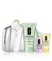 Free 8-pc Gift With Cleansing Brush Holiday Gift Set Purchase @ Clinique
