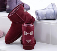 $120.00 UGG Classic Mini Crystal Bow (3 Colors Available)