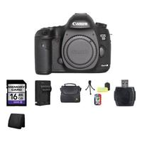 $2480.65 Canon EOS 5D Mark III DSLR Camera Body Bundle
