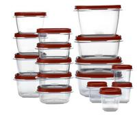 $12.00 Rubbermaid 34-Pc Easy Find Lids Set