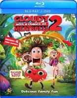 $9.99 Cloudy with a Chance of Meatballs 2 Two Disc Combo