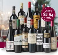 Save $120!  Laithwaite's Top 12 Holiday Wine Exclusive for $69.99 + 4 Free Crystal Glasses