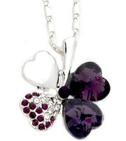 $9.99 Swarovski Elements Clover Necklace