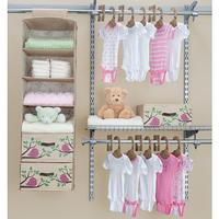 $13.79 Delta 20 Piece Nursery Closet Starter Kit