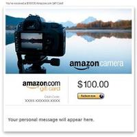 Free $25 Amazon Camera Credit When You Spend $100 in Camera Gift Cards