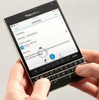 $499.99 BlackBerry Passport - Factory Unlocked Smartphone