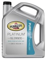 $12.66 Pennzoil Platinum 5-Quart Full Synthetic Oil
