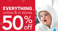 50% Off + Up To Extra 25% Off Site Wide @ Carter's
