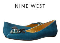 Up to 67% Off + Extra 15% Off Nine West Flats @ 6PM