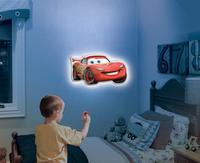 $14.62 Uncle Milton Wall Friends Lightning McQueen, Talking Room Light