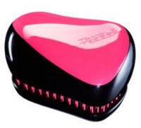 $11.99 Tangle Teezer Compact Styler Hair Brush, Black and Pink
