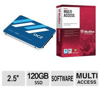 "$19.99 After Rebate OCZ ARC100 SERIES 120GB 2.5"" SATA III SSD + McAfee Multi-Access 1 User 5 Devices"