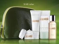 Free 5-pc Gift Set   + 2 Free Samples with Any $350 Purhcase @ La Mer