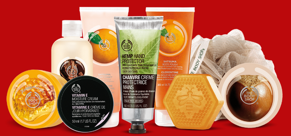 Black Friday Tote Filled with 9 Customer Favorites with $30 purchase @ The Body Shop