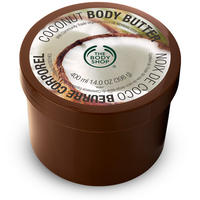 With JUMBO COCONUT BODY BUTTER Purchase @ The Body Shop