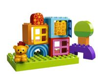 $9.09 LEGO DUPLO Toddler Build and Play Cubes 10553
