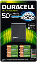 $20 Duracell Rechargeable Ion Speed 4000 Battery Charger 1 Count
