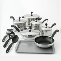 $22.99 After Kohl's Cash & Rebate Farberware Classic Series 15-pc. Stainless Steel Cookware Set