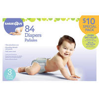 $10 BabiesRUs Ultra Absorbent Diapers Special Packs