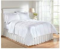 $19.97 LivingQuarters White Microfiber Down-Alternative Comforter