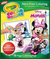 $2.5 Crayola Minnie Mouse Color Wonder Refill Book