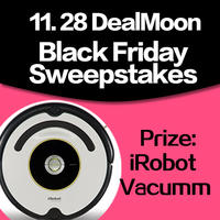 Win an iRobot Vacuum and Dealmoon T-Shirts by leaving a comment via DealMoon Mobile App for iPhone, iPad, or Android